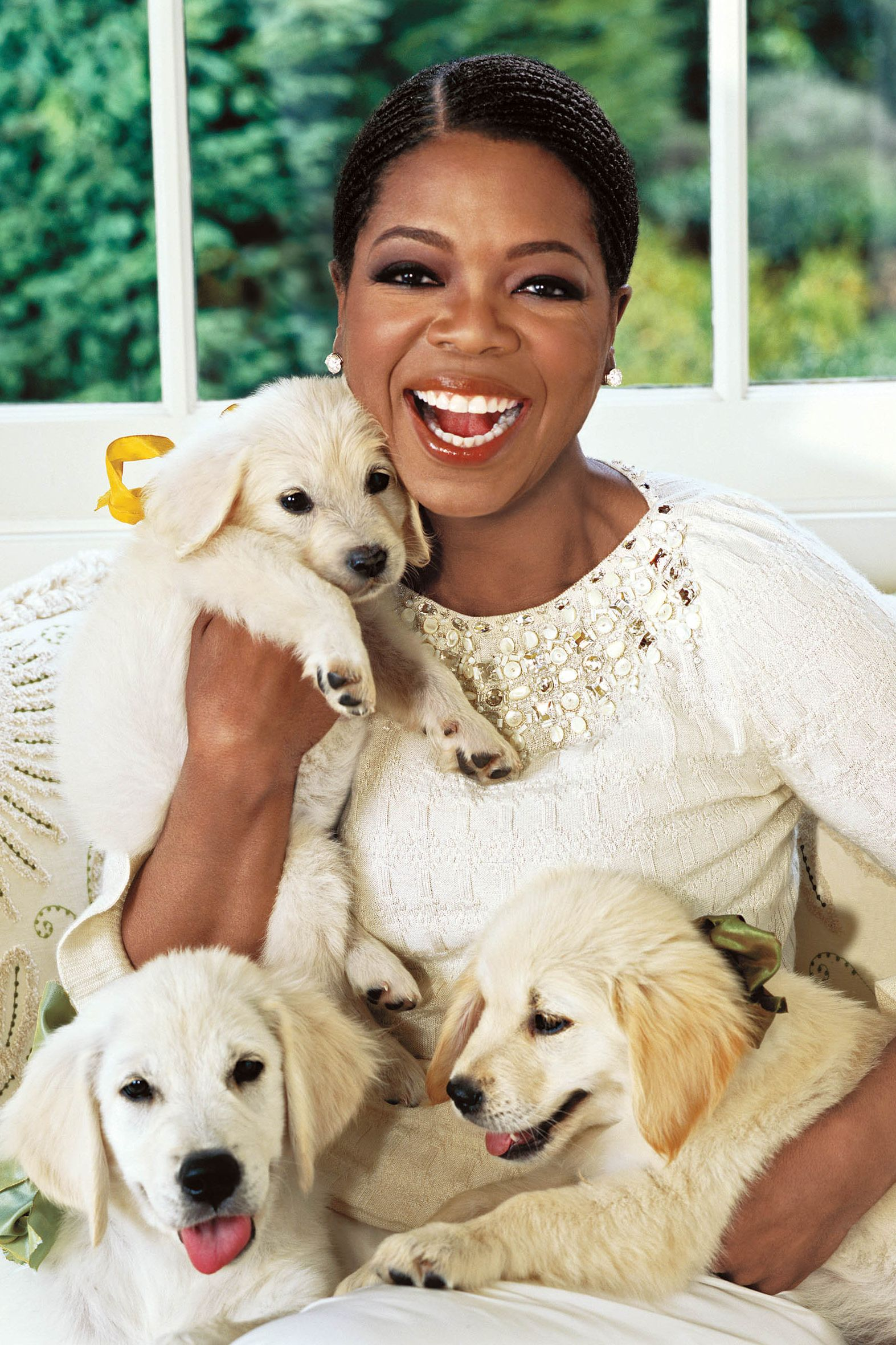 Oprah on the cover of Oprah Magazine January 2006