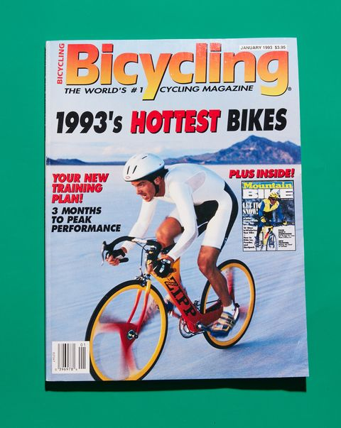 Bicycling Magazine Cover January 1993
