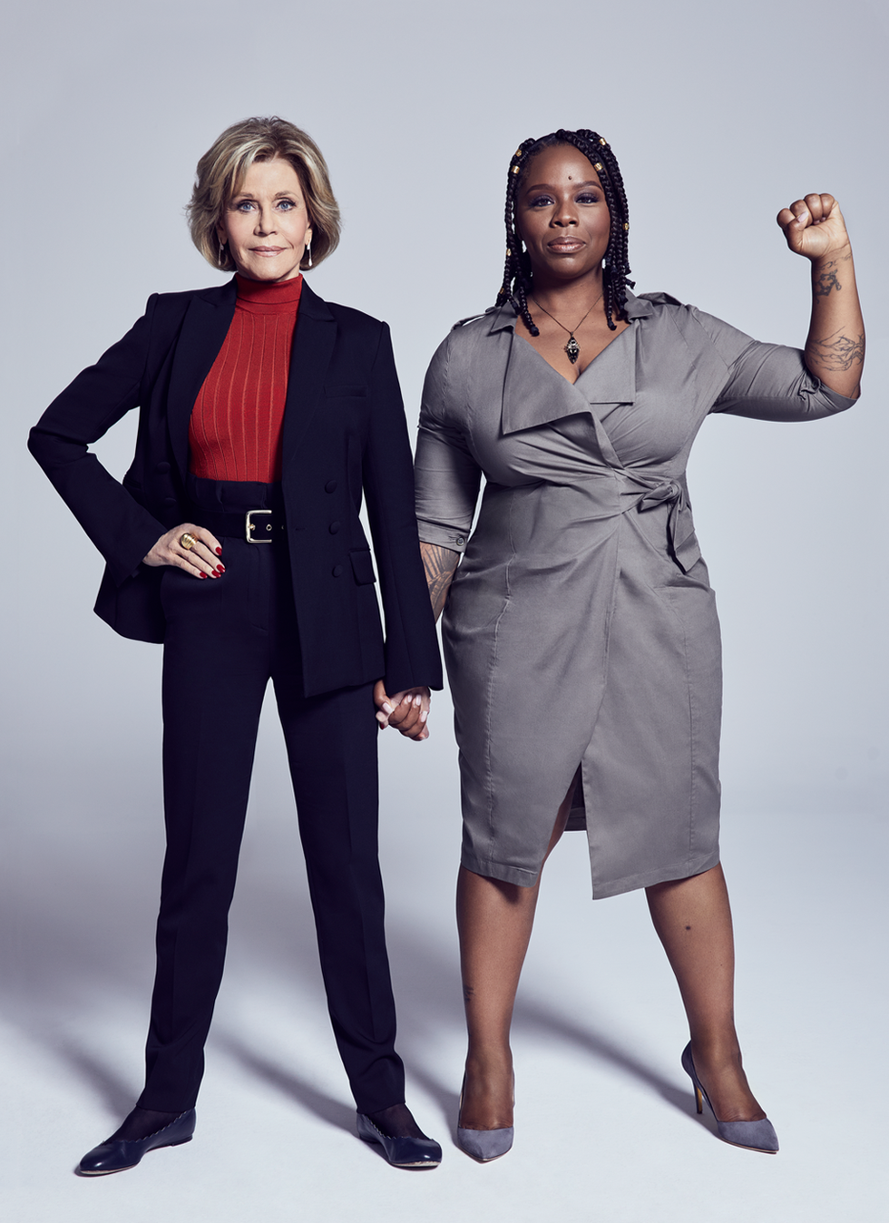 Jane Fonda and Patrisse Khan-Cullors on the Sobering Realities of Racism
