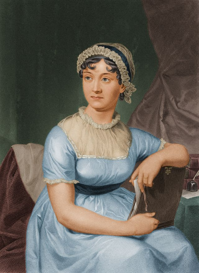 circa 1790  english author jane austen 1775   1817  photo by stock montagestock montagegetty images