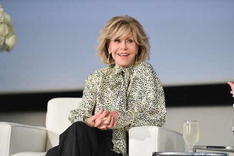 l'oréal presents in conversation with jane fonda during 2019 toronto international film festival