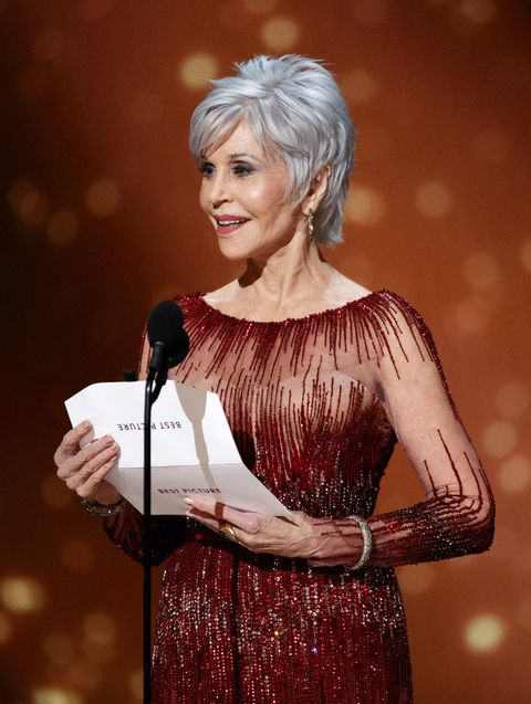 Oscars 2020 beste beautylooks: Jane Fonda