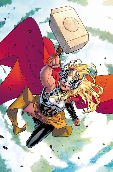 Personajes que han levantado el martillo de Thor:Jane Foster