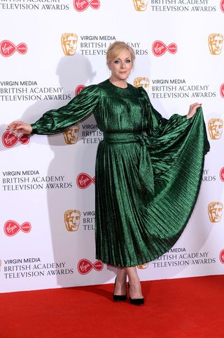 Best Outfits From Bafta Television Awards 2019 Red Carpet Photos
