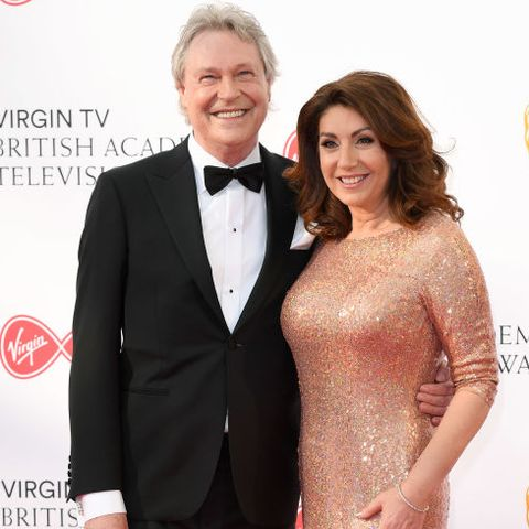 walter rothe and jane mcdonald attend the virgin tv british academy television awards at the royal festival hall on may 13, 2018 in london, england