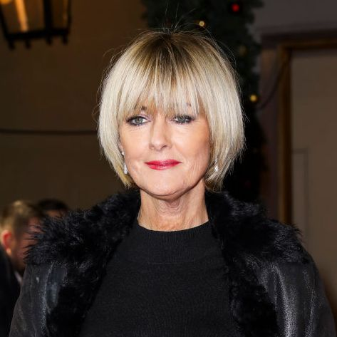 jane moore wows in polka dot ms jumpsuit   get the look for under £20