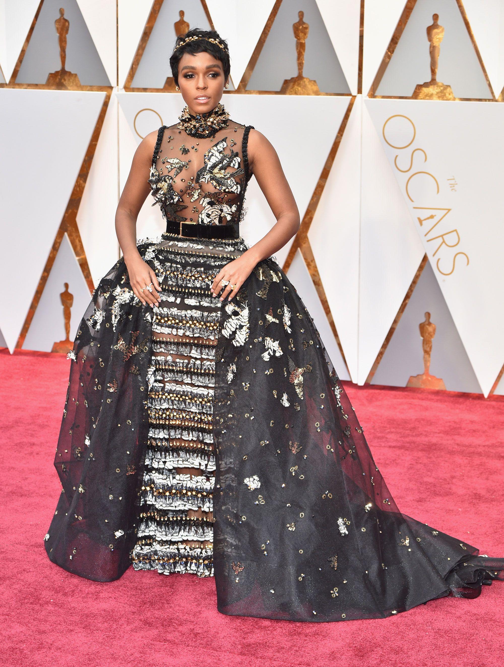 Janelle Monae Dress on Oscar