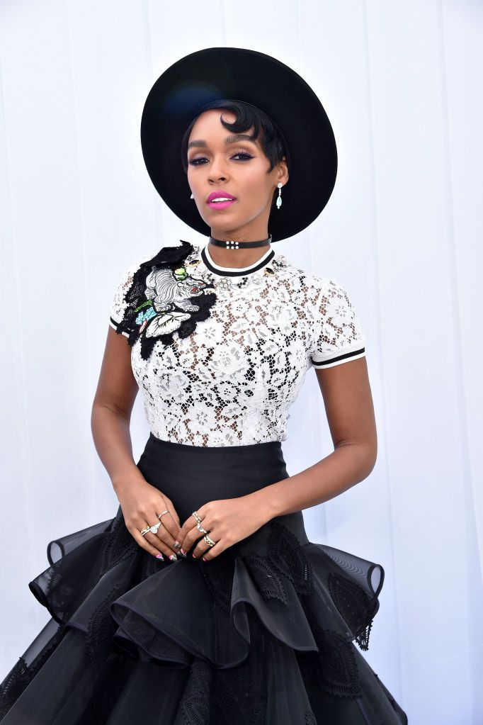"Janelle Monáe The singer told Rolling Stone in April that, while she initially identified as bisexual, she later read about pansexuality and thought, ""Oh, these are things that I identify with too."" The 32-year-old added that being more open about learning who she is helped her to come out."