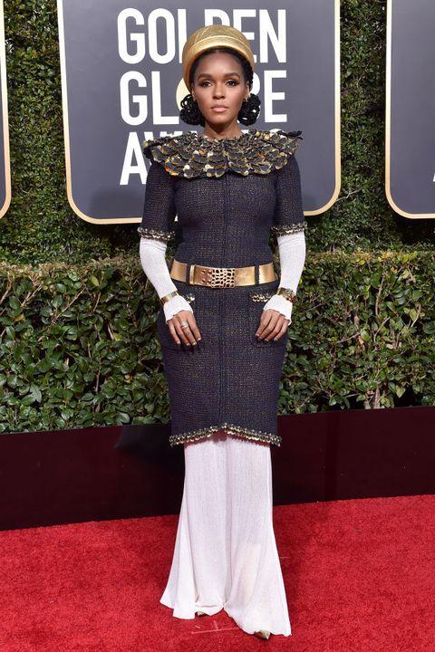Most Unique Golden Globes Looks - Janelle Monae