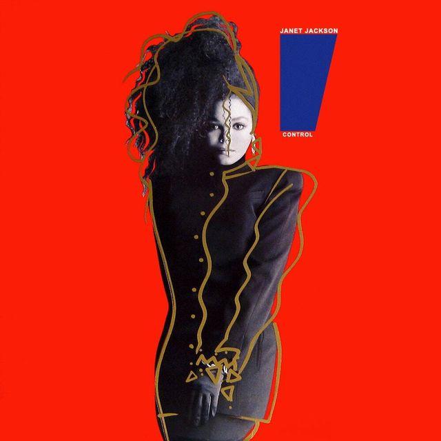 janet  jackson control album cover