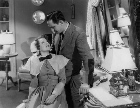 Janet Gaynor And Fredric March In 'A Star Is Born'