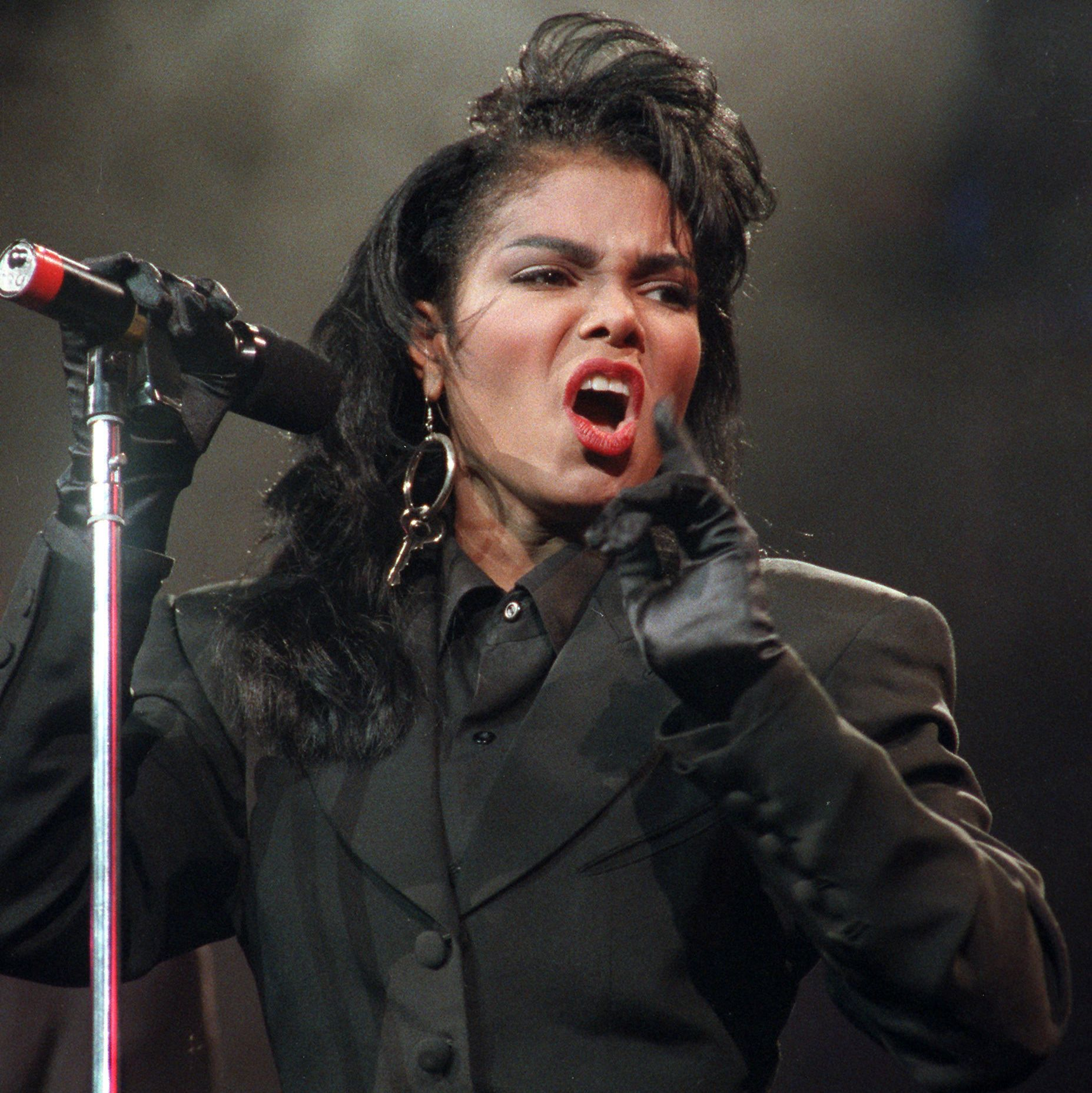 Janet Jackson in concert Achive Images