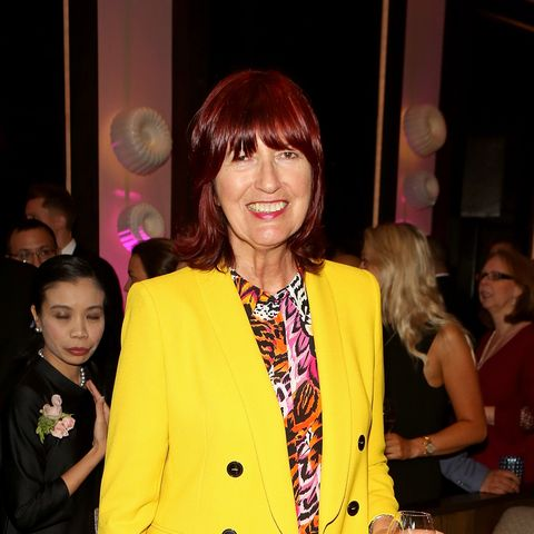 Janet Street porter cuts fringe on This Morning