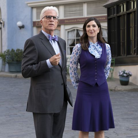 janet from the good place - pop culture halloween costumes