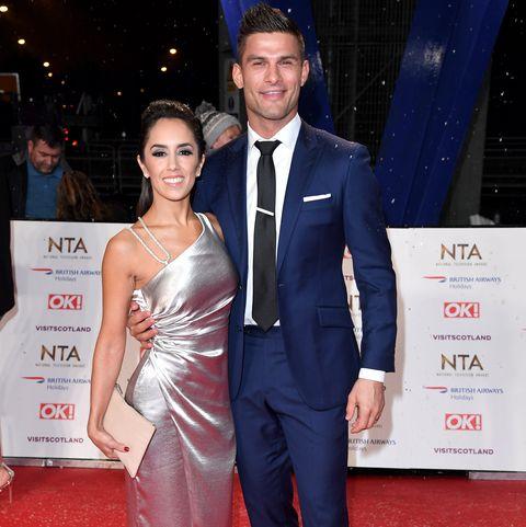 Strictly Come Dancing Janette Manrara and Aljaž Skorjanec