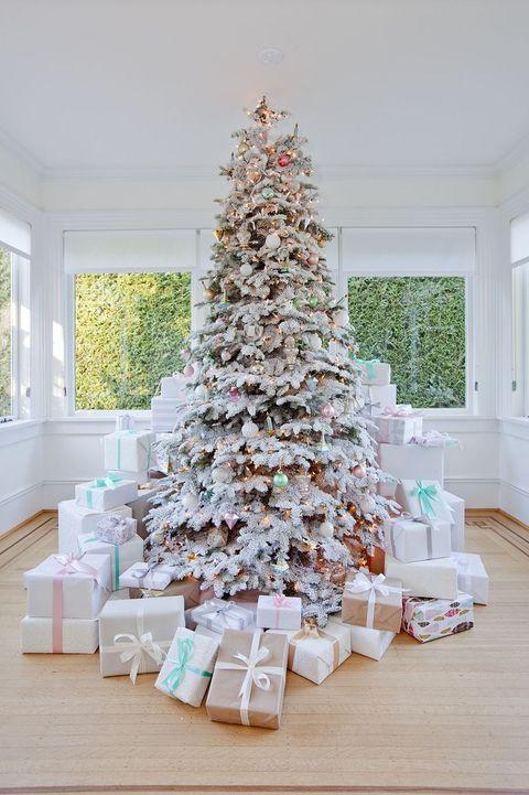 christmas tree themes - Christmas Tree Color Themes