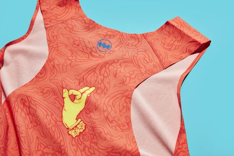 Vibrant Looks and a Featherweight Construction: Janji's Orbital Singlet