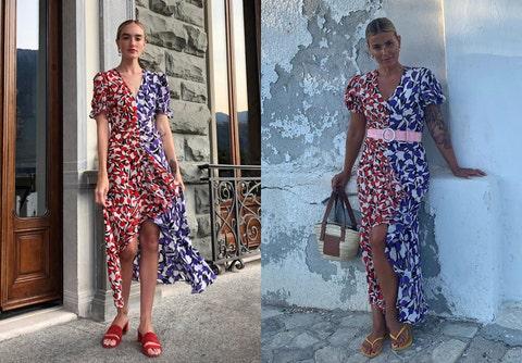 Clothing, Fashion model, Fashion, Dress, Street fashion, Day dress, Haute couture, Shoulder, Footwear, Fashion design,