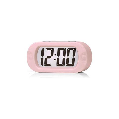 jap ap17 digitale wekker roze verlichting stevig