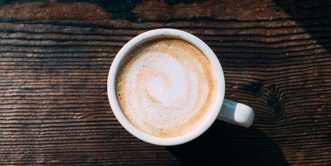 Japan, Minami, Jonishi, Hokkaido Prefecture, Pattern On Coffees Surface