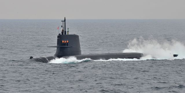 japan military navy review