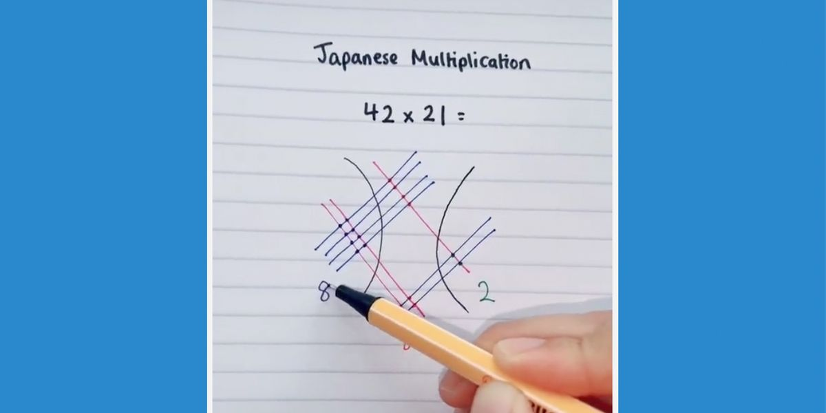 The Japanese Way to Multiply Is so Much Cooler Than Ours