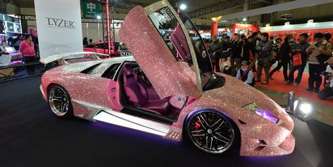 Swarovski Crystal Covered Lamborghinis And You A Reality Check
