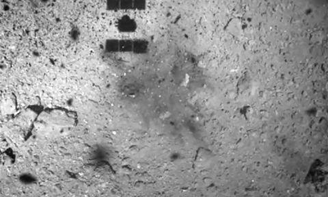 jaxa asteroid explosion