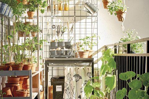 jardinería macetas y muebles de ikea