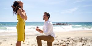 Jared Haibon Beach Proposal