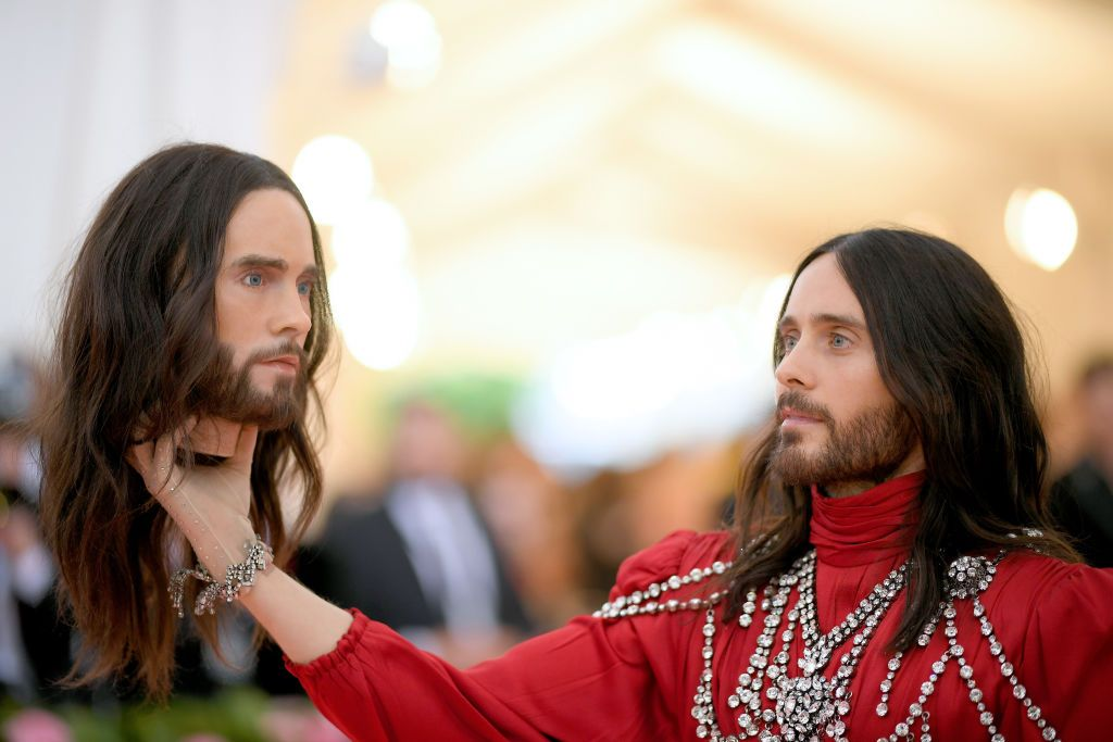 Jared Leto Says Something Mysterious Happened To His Decapitated Head From The Met Gala