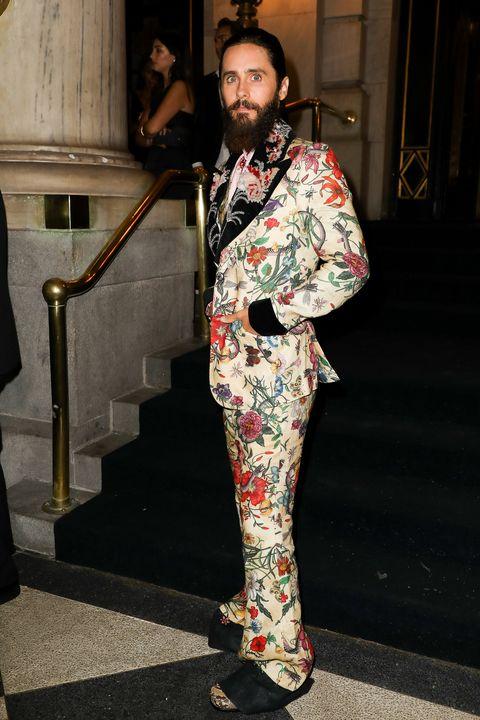 Jared Leto Y El Inconfundible Estilo De Gucci En Versión Low Cost