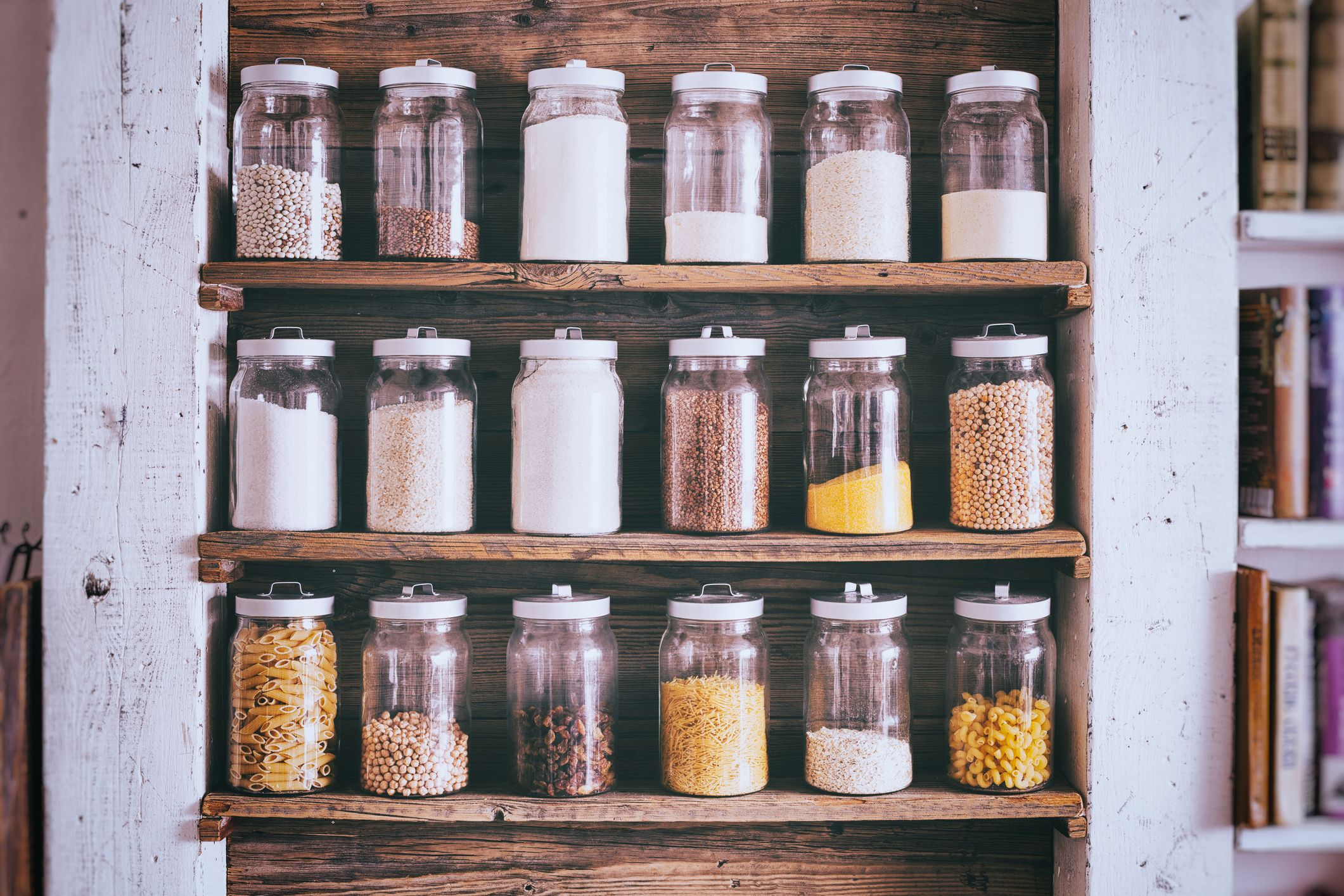 20 Genius Kitchen Pantry Organization Ideas   How To Organize Your Pantry    Delish.com