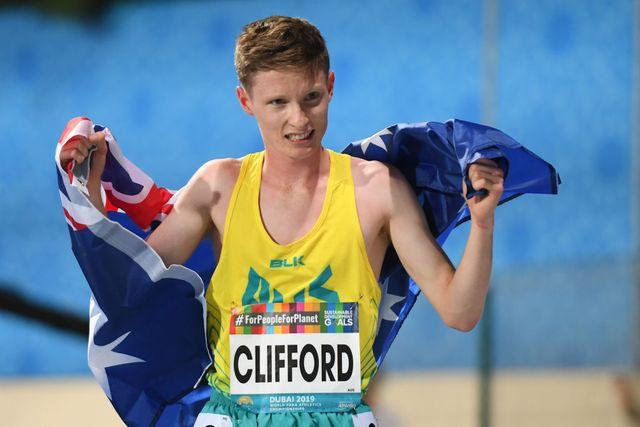 jaryd clifford, atleta paralimpico que bate un récord mundial de maratón
