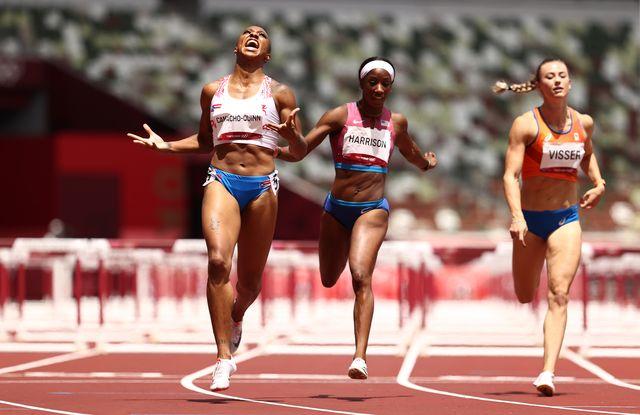 jasmine camacho queen, oro olimpico en 100 metros vallas, juegos olimpicos de tokio