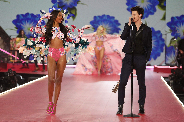 New Sexy Victoria's Secret Fabulous Push Up Bikini Set White Sequin Neon Stripe.