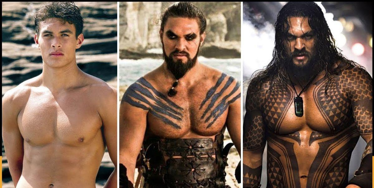 La increíble transformación de Jason Momoa hasta Aquaman