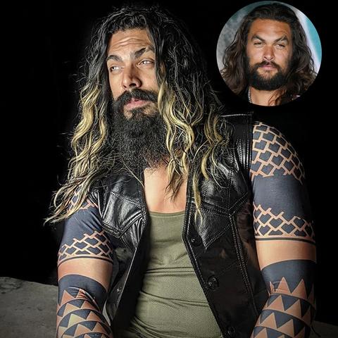 Hair, Facial hair, Beard, Tattoo, Arm, Human, Moustache, Flesh, Long hair, Wrestler,