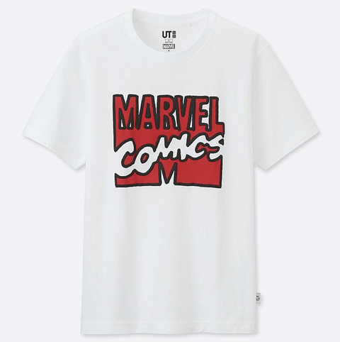 Jason Polan Uniqlo Marvel, camiseta marvel, camiseta uniqlo, jason polan