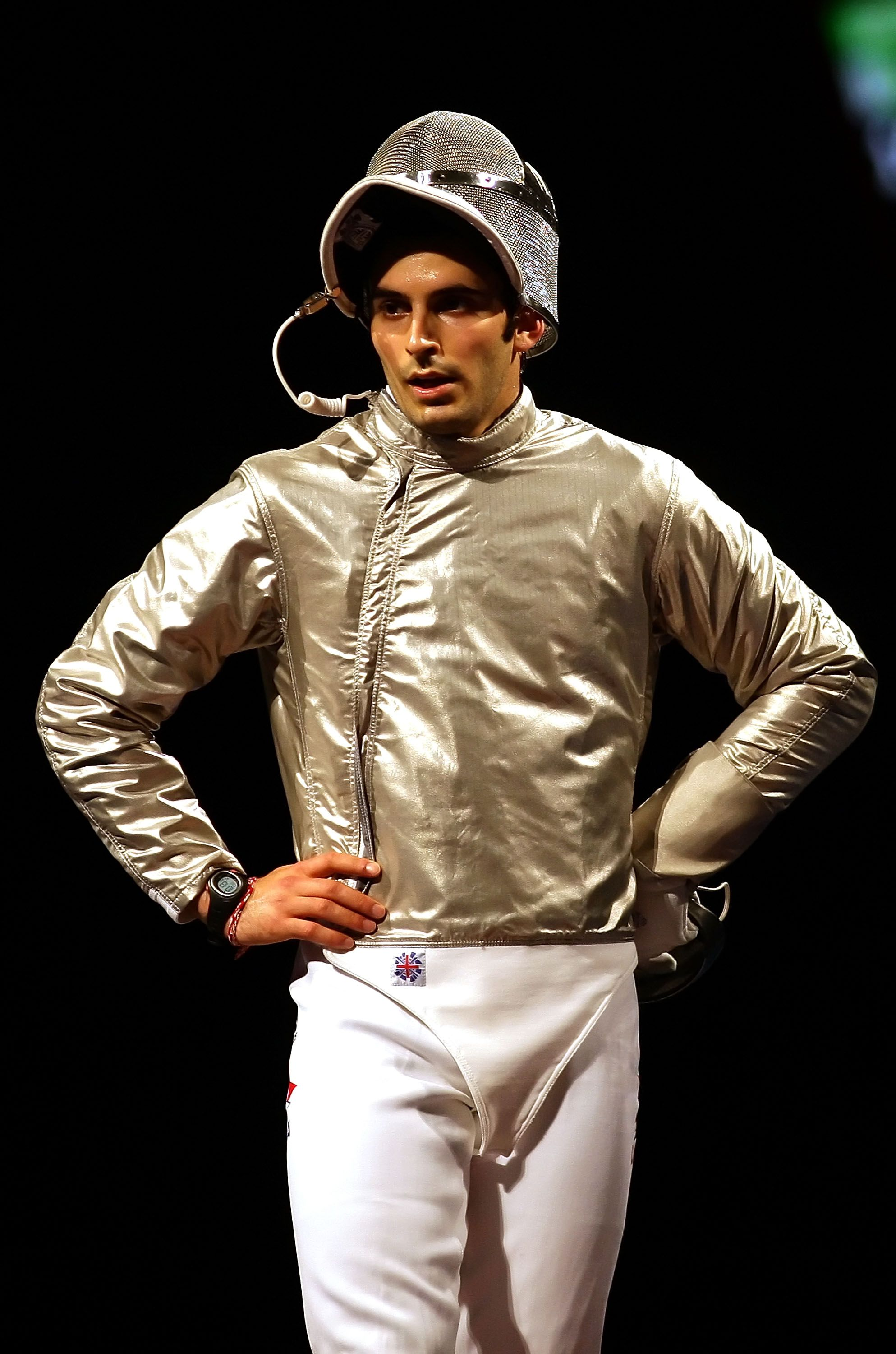 Jason Rogers Won a Medal in Fencing at the Beijing Olympics. But His Toughest Battle Was in the Bedroom.