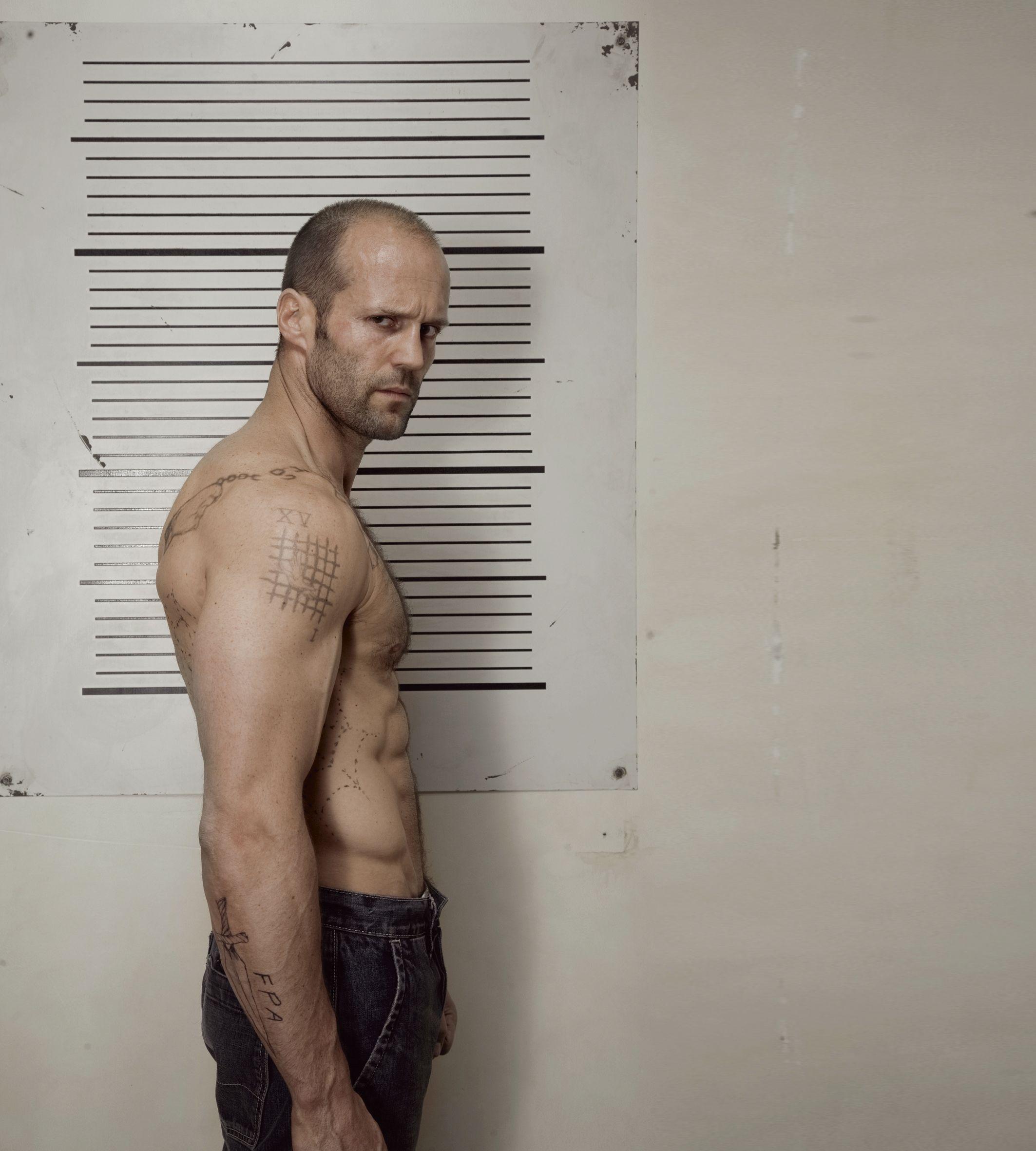 La dieta de Jason Statham para construir músculo