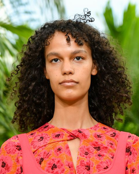 spring summer makeup trends, new york, new york   september 13 a model walks the runway for jason wu   september 2020 during new york fashion week the shows at spring studios terrace on september 13, 2020 in new york city photo by mike coppolagetty images for nyfw the shows