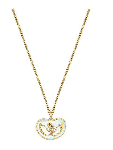 astro dior necklace