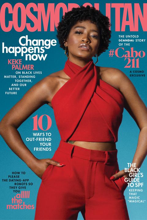 j'august magazine cover of keke palmer