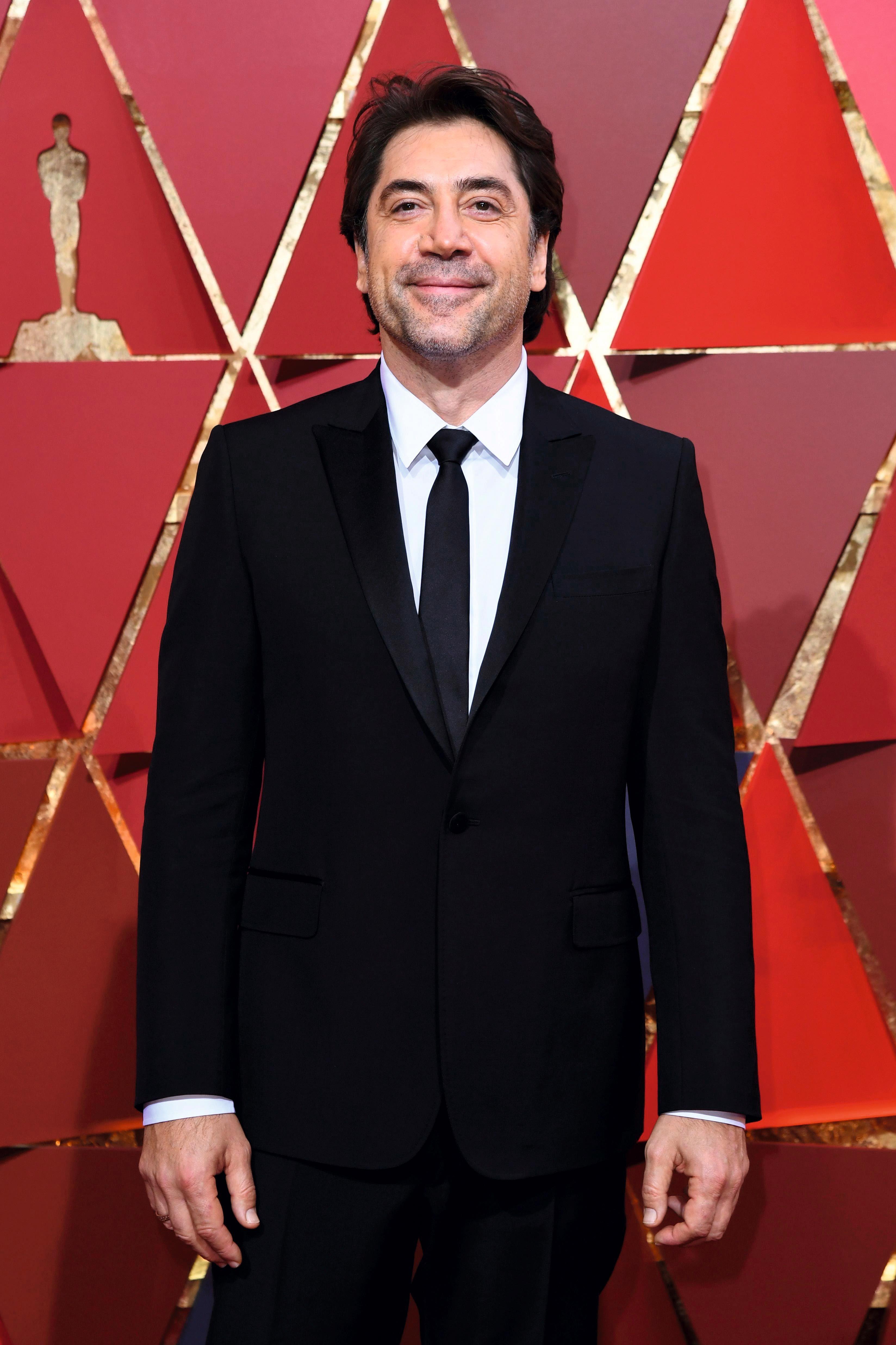 El actorJavier Bardem en los Oscar