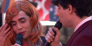 Los Javis se atreven a imitar (o parodiar) la actuación de Amaia y Alfred en Eurovisión