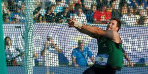 Javier Cienfuegos. Campeonato de España de atletismo 2019.