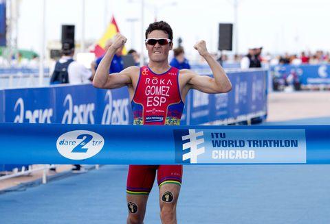 Javier Gómez Noya vuelve a las Series Mundiales de Triatlón