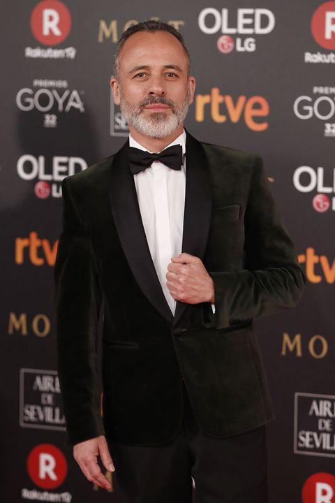 Javier Gutiérrez premios goya 2018 alfombra roja