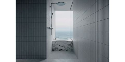Architecture, Wall, Glass, Fixture, Daylighting, Composite material, Transparent material, Tile, Aluminium,